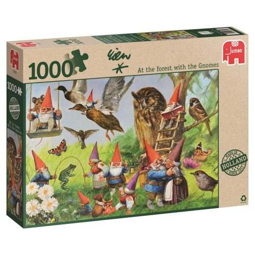 Puzzle with the gnomes in the forest-0