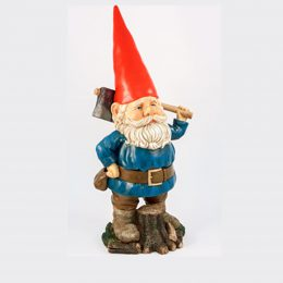Gnome with axe-0