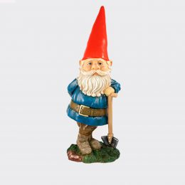 Gnome with shovel-0