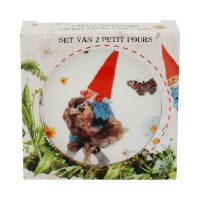 Set van 4 petit fours in giftbox KABOUTER