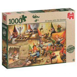 Puzzel Bij de Kabouters thuis-0
