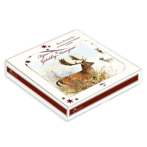 """Rien Poortvliet kerstbox """"herten""""-181"""