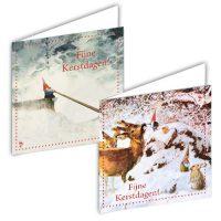 """Rien Poortvliet Kabouter  kerstbox """"hoorn"""""""