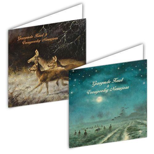 """Rien Poortvliet kerstbox """"landschap""""-0"""