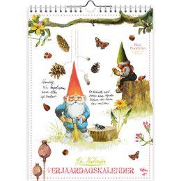 Rien Poortvliet verjaardagskalender KABOUTER 18×25