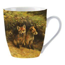 Set van 2 koffiemokken 'Wild' VOSJES