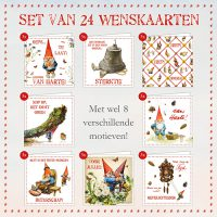 Action! Set of 24 Greeting cards GNOME