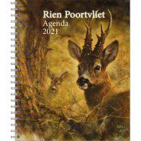 Rien Poortvliet Desk-Agenda FOXES 2020