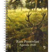 Rien Poortvliet bureau-agenda EDELHERT 2020 *50% korting*