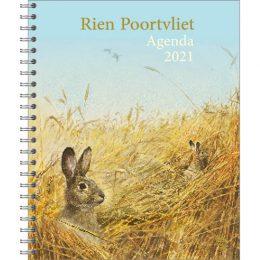 Rien Poortvliet bureau-agenda KONIJNEN 2021
