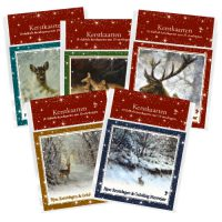 Rien Poortvliet 5 packs of Christmas cards