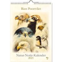 Rien Poortvliet NATUR NOTIZ KALENDER (duitse versie)_