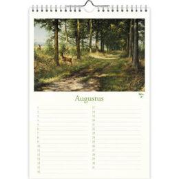 Rien Poortvliet natuur A4 verjaardagskalender